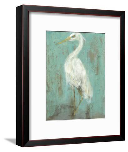 Seaspray Heron II-Jennifer Goldberger-Framed Art Print