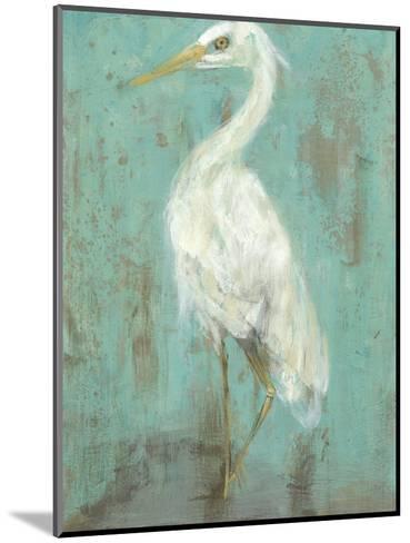 Seaspray Heron II-Jennifer Goldberger-Mounted Art Print