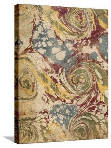 Marbleized I-Vision Studio-Stretched Canvas Print
