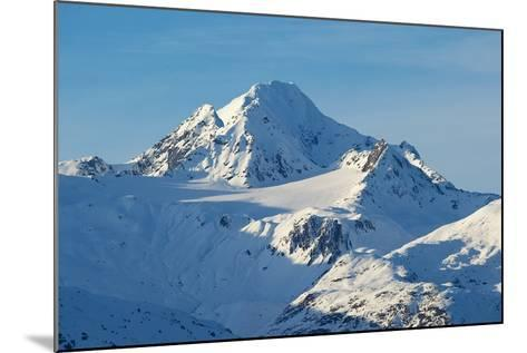 A Scenic View of Jagged, Snow-Covered Peaks in the Chilkat Range-Bob Smith-Mounted Photographic Print