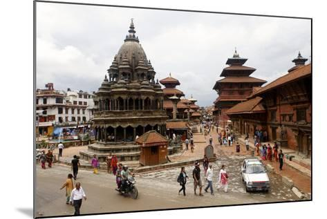 View of Patan's Durbar Square-Jill Schneider-Mounted Photographic Print