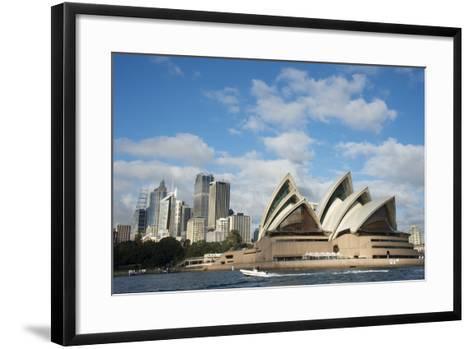The Sydney Opera House in Sydney, Australia-Joel Sartore-Framed Art Print