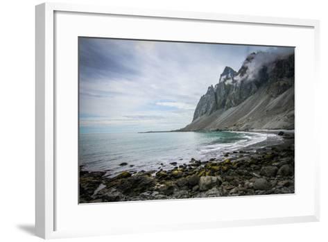 A Scenic View of the Icelandic Coast-Erika Skogg-Framed Art Print