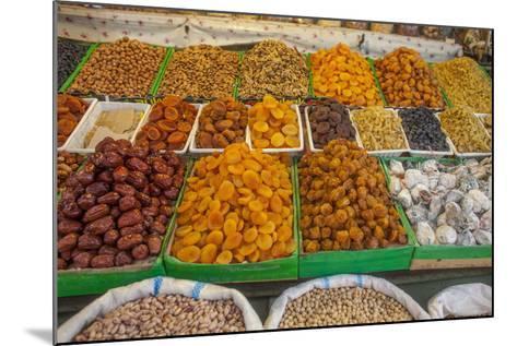 Dried Fruit for Sale in a Baku Bazaar-Will Van Overbeek-Mounted Photographic Print
