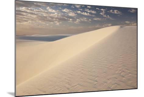 View of White Sand Dune at Sunrise in White Sands National Monument-Derek Von Briesen-Mounted Photographic Print