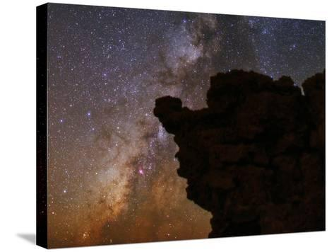 The Milky Way in the Constellations Sagittarius in the Night Sky-Babak Tafreshi-Stretched Canvas Print