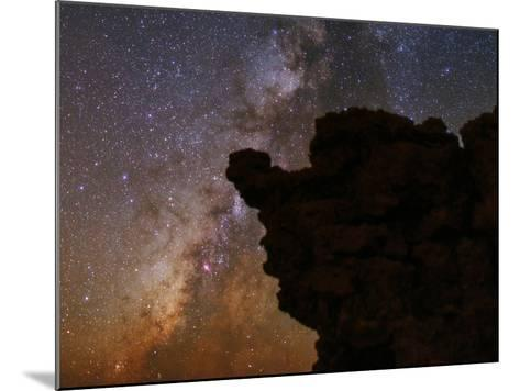 The Milky Way in the Constellations Sagittarius in the Night Sky-Babak Tafreshi-Mounted Photographic Print