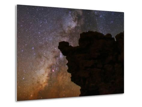The Milky Way in the Constellations Sagittarius in the Night Sky-Babak Tafreshi-Metal Print