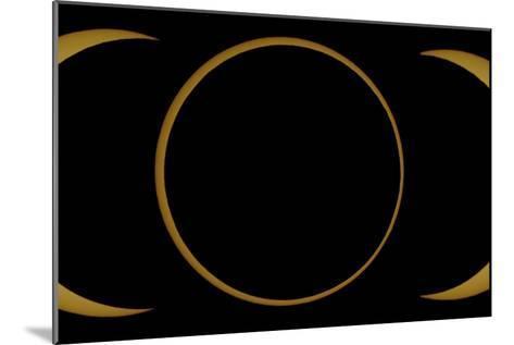 A Composite Image of an Annular Solar Eclipse-Babak Tafreshi-Mounted Photographic Print