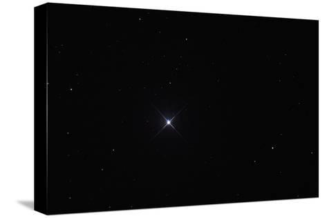 Telescopic View of the North Star or Polaris in Constellation Ursa Minor-Babak Tafreshi-Stretched Canvas Print