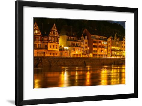 The Town of Cochem Sits on the Banks of the Moselle River-Babak Tafreshi-Framed Art Print