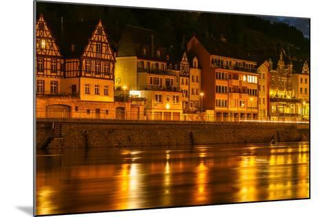 The Town of Cochem Sits on the Banks of the Moselle River-Babak Tafreshi-Mounted Photographic Print