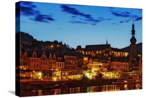 The Town of Cochem Sits on the Bank of the Moselle River-Babak Tafreshi-Stretched Canvas Print