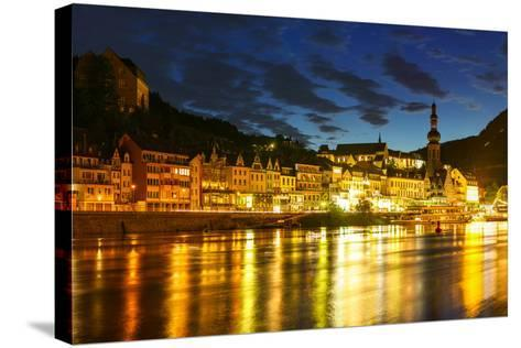 The Town of Cochem Sits on the Banks of the Moselle River-Babak Tafreshi-Stretched Canvas Print