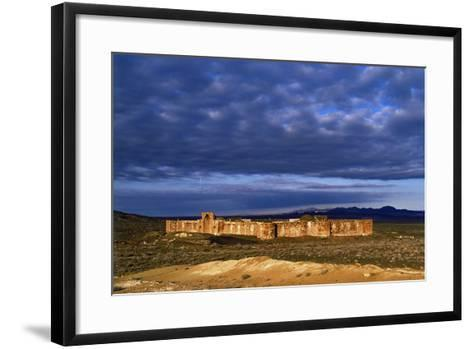 The Historic Bahram Palace Caravansary, a Roadside Inn, a Place for Travelers to Rest and Recover-Babak Tafreshi-Framed Art Print