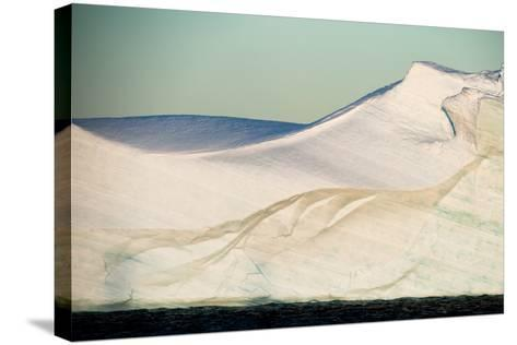 An Abstract View of an Iceberg-Tom Murphy-Stretched Canvas Print