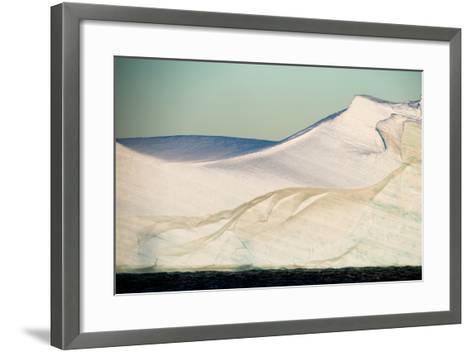 An Abstract View of an Iceberg-Tom Murphy-Framed Art Print