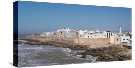 Wide View of the Old Part of Essaouira Seen from the Top of the Skala Du Port, Morocco--Stretched Canvas Print