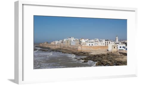 Wide View of the Old Part of Essaouira Seen from the Top of the Skala Du Port, Morocco--Framed Art Print