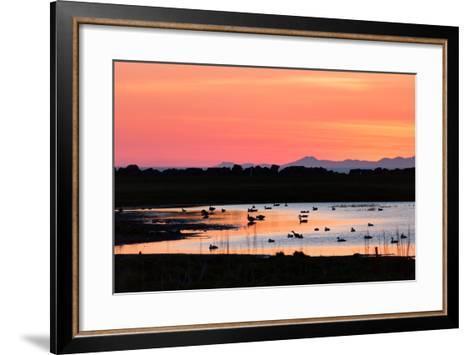 Midnight Sun, Reykjavik, Iceland--Framed Art Print