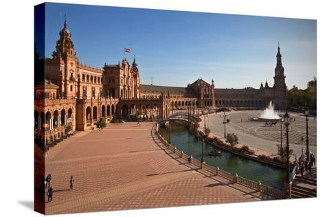 The Plaza De Espana--Stretched Canvas Print