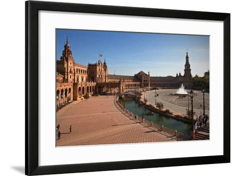 The Plaza De Espana--Framed Art Print