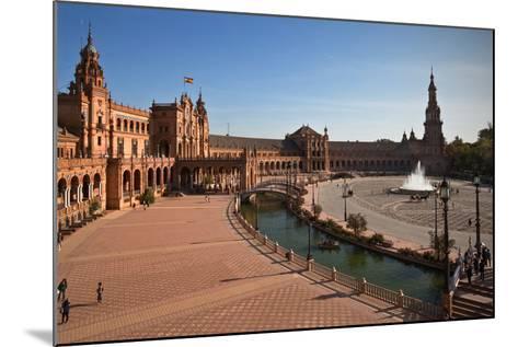 The Plaza De Espana--Mounted Photographic Print