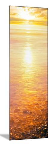 View of Ocean During Sunset, Calumet Park Beach, La Jolla, San Diego, California, Usa--Mounted Photographic Print