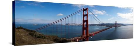 Golden Gate Bridge Viewed from Hendrik Point, San Francisco Bay, San Francisco, California, Usa--Stretched Canvas Print