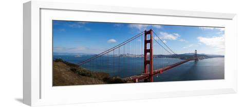 Golden Gate Bridge Viewed from Hendrik Point, San Francisco Bay, San Francisco, California, Usa--Framed Art Print