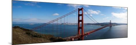 Golden Gate Bridge Viewed from Hendrik Point, San Francisco Bay, San Francisco, California, Usa--Mounted Photographic Print