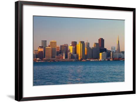 City at the Waterfront, San Francisco, California, Usa 2013--Framed Art Print