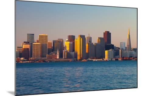 City at the Waterfront, San Francisco, California, Usa 2013--Mounted Photographic Print