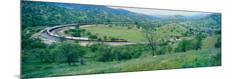 The Tehachapi Train Loop Near Tehachapi California--Mounted Photographic Print