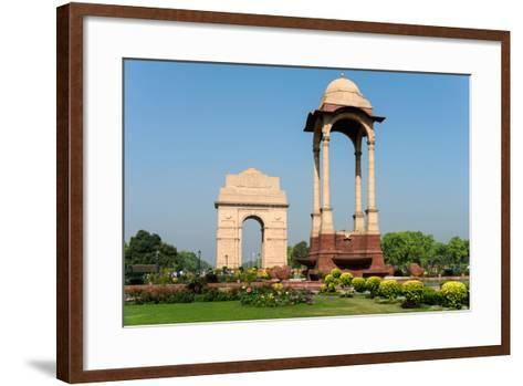 View of the India Gate, New Delhi, India--Framed Art Print