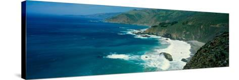 Pacific Ocean, Northern California--Stretched Canvas Print