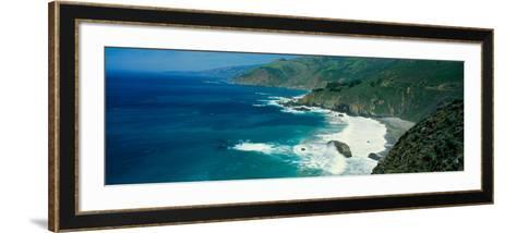 Pacific Ocean, Northern California--Framed Art Print