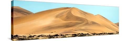 View of Dunes, Walvis Bay, Namibia--Stretched Canvas Print