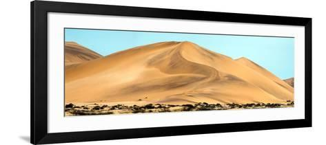 View of Dunes, Walvis Bay, Namibia--Framed Art Print