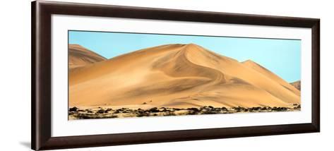 View of Dunes, Walvis Bay, Namibia--Framed Art Print