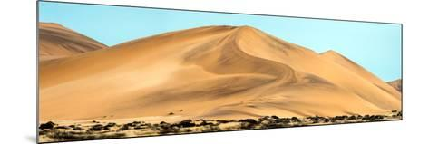 View of Dunes, Walvis Bay, Namibia--Mounted Photographic Print