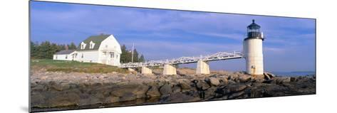 Marshall Point Lighthouse from 1832, Penobscot Bay, Port Clyde, Maine--Mounted Photographic Print