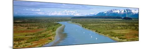 Salmon Fishing Boats at Wrangell-St. Elias National Park, Alaska--Mounted Photographic Print