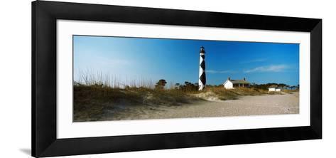 Cape Lookout Lighthouse, Outer Banks, North Carolina, Usa--Framed Art Print