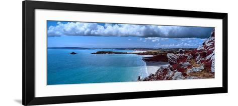 Cliffs on the Coast, Baie De Douarnenez, Finistere, Brittany, France--Framed Art Print