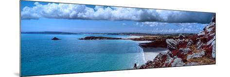 Cliffs on the Coast, Baie De Douarnenez, Finistere, Brittany, France--Mounted Photographic Print