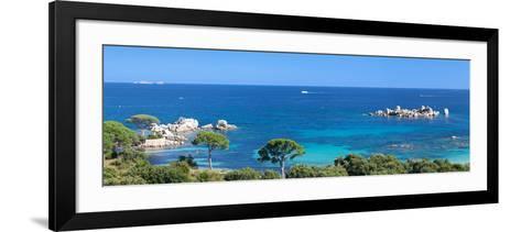 Palombaggia Beach Near Porto Vecchio, Corse-Du-Sud, Corsica, France--Framed Art Print