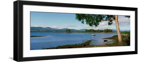 Panoramic View of the Kenmare Bay, County Kerry, Ireland--Framed Art Print