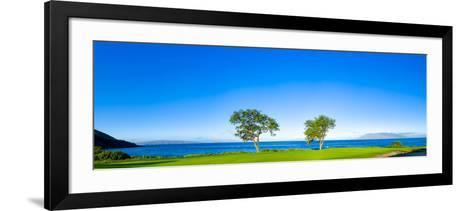 Makena Golf Course in Makena Area of Maui, Hawaii, Usa--Framed Art Print