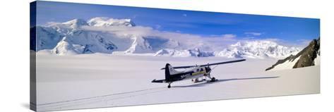 Scout Bush Airplane, Wrangell-St. Elias National Part, Alaska--Stretched Canvas Print